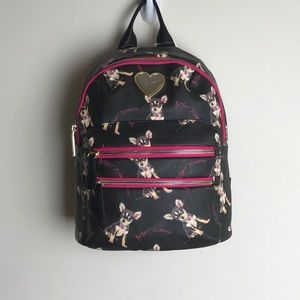 NWT-Chihuahua Betsey Johnson Backpack